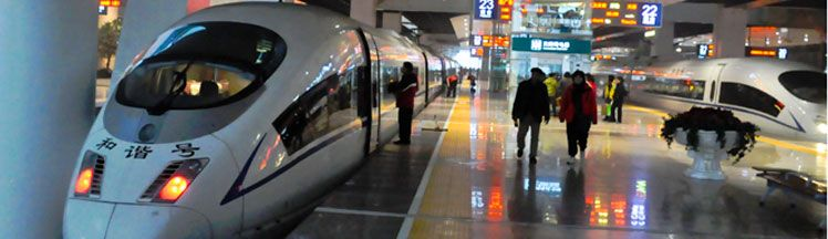 China Bullet Trains
